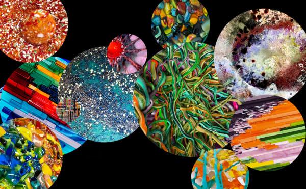 Overlap Black Art | Natalie Ventimiglia Studios