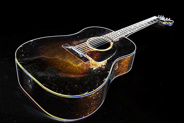 400.1834D Gibson J45 Dark Drawing