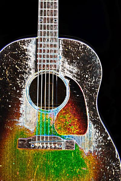 402.1834D Gibson J45 Dark Drawing