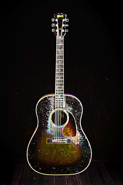 409.1834D Gibson J45 Dark Drawing