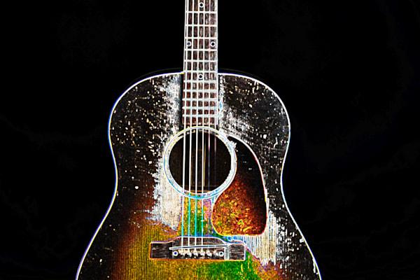 408.1834D Gibson J45 Dark Drawing