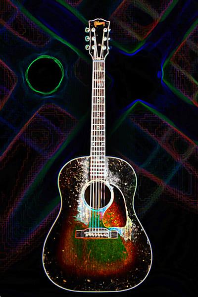 406.1834D Gibson J45 Dark Drawing