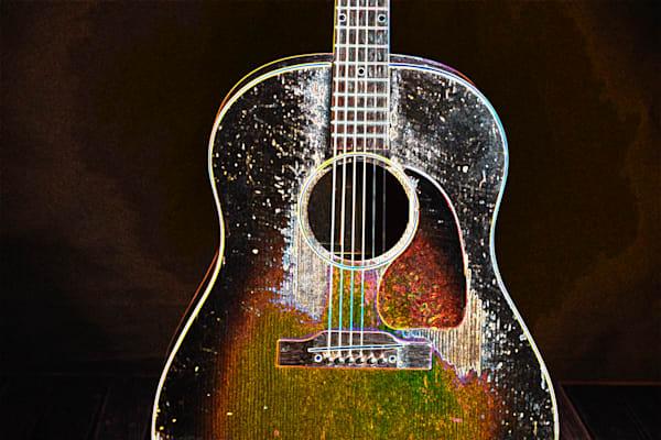 413.1834D Gibson J45 Dark Drawing