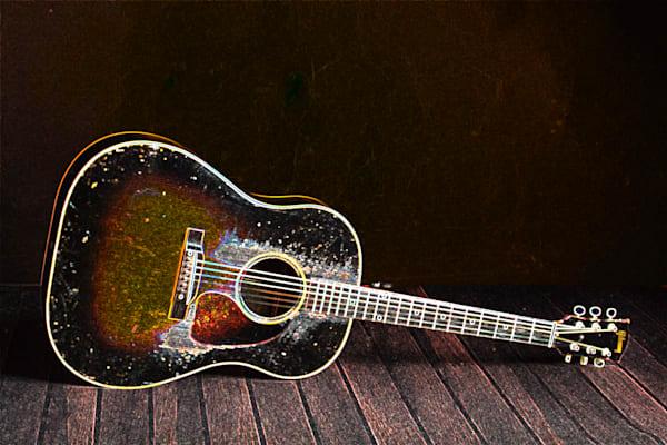415.1834D Gibson J45 Dark Drawing