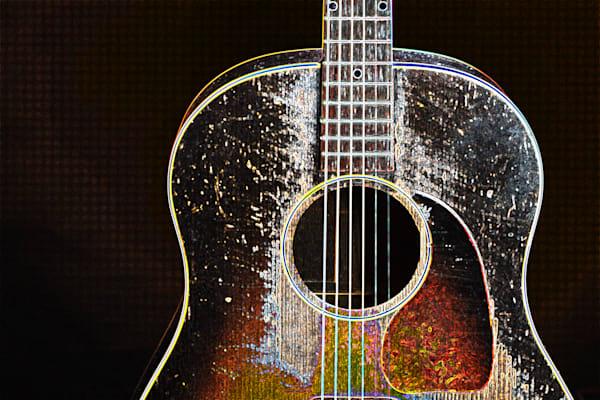 412.1834D Gibson J45 Dark Drawing