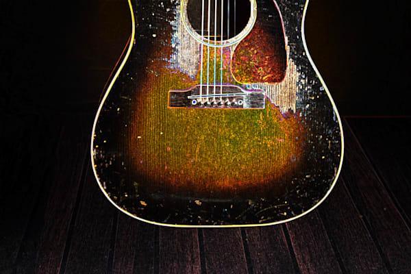 414.1834D Gibson J45 Dark Drawing