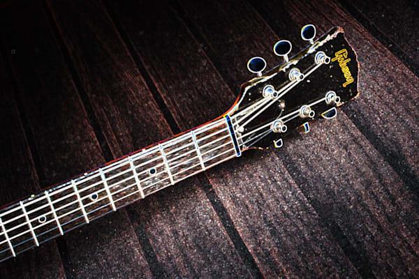 416.1834D Gibson J45 Dark Drawing