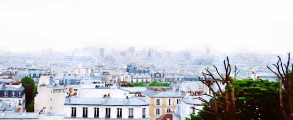 Photograph of  Montmartre in Paris