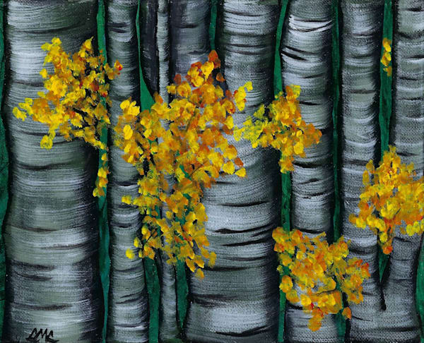 Birch Trees | LML Studio Art