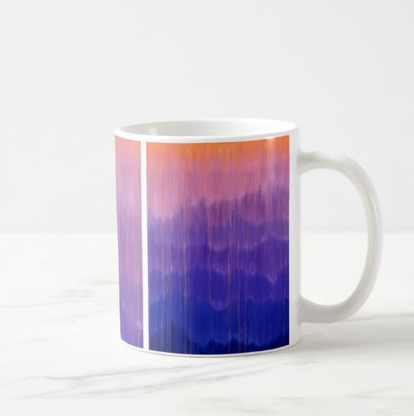 Mug 11oz Misty Morning Mountain Rain By Rachel Brask | Rachel Brask Studio, LLC
