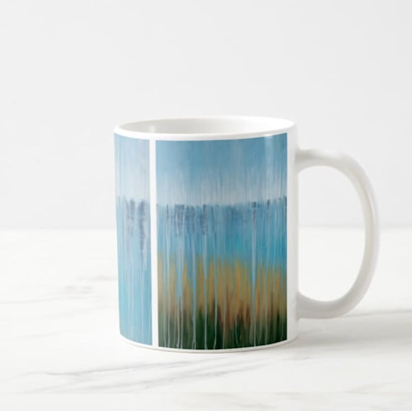 Mug 11oz Rainy Beach Dreams by Rachel Brask