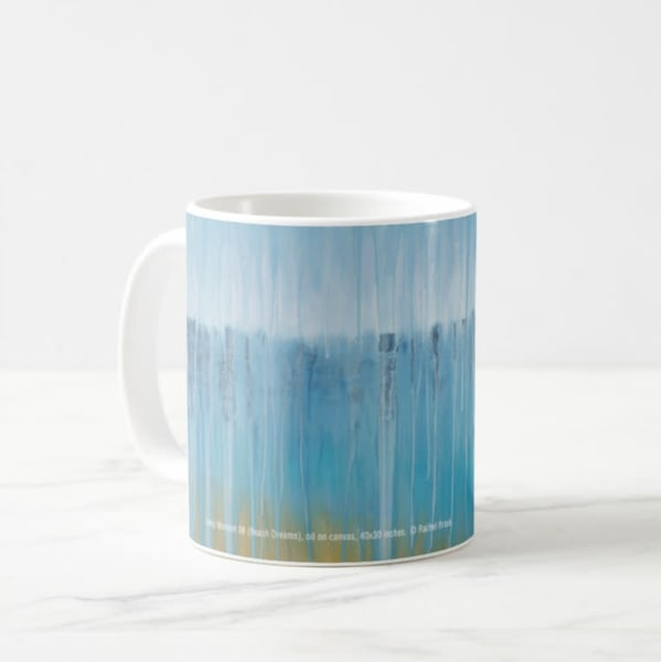 Mug 11oz Rainy Beach Dreams By Rachel Brask | Rachel Brask Studio, LLC