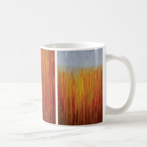 Mug 11oz Autumnal Rain by Rachel Brask