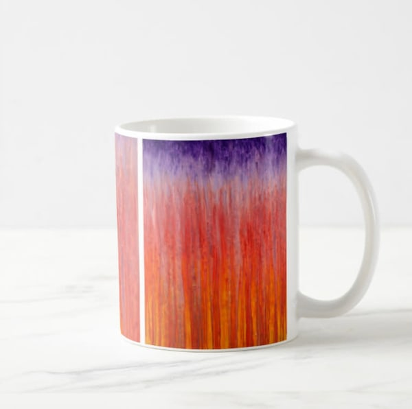 Mug 11oz Sunset Rain By Rachel Brask | Rachel Brask Studio, LLC