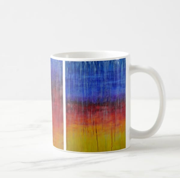 Mug 11oz Sunrise In Rain By Rachel Brask | Rachel Brask Studio, LLC