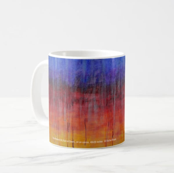 Mug 11oz Sunrise in Rain by Rachel Brask
