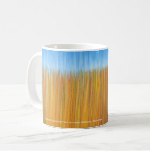 Mug 11oz Sandy Desert Rain By Rachel Brask | Rachel Brask Studio, LLC