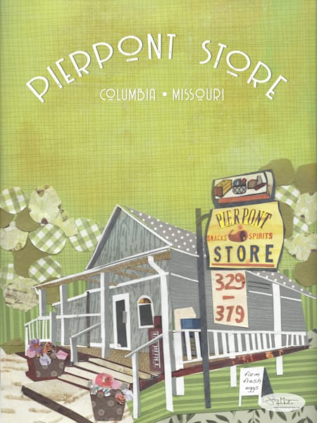 The Pierpont General Store Columbia Missouri - Pierpoint Store Print | Artist Jenny McGee