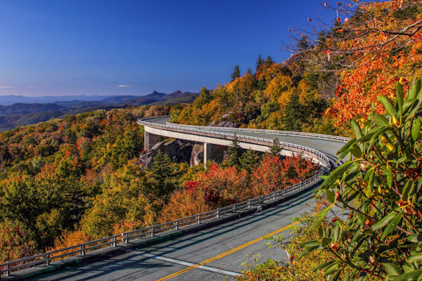 Linn Cove Viaduct Photography Art | Red Rock Photography