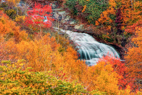 Second Falls At Graveyard Fields Photography Art | Red Rock Photography