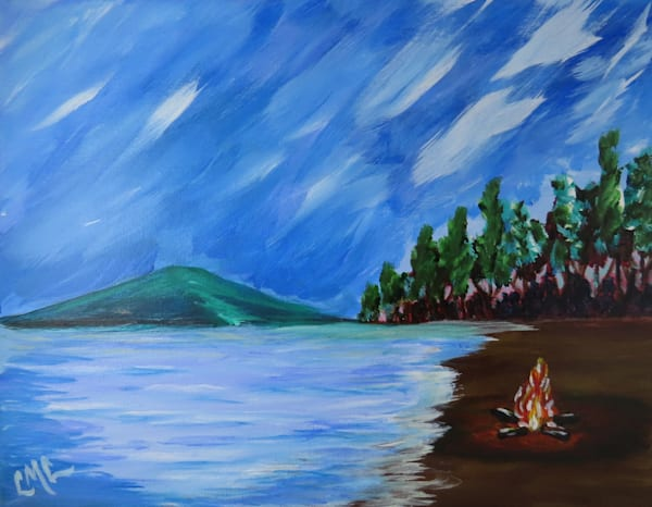 Ice Out - Ellacoya Inspired   LML Studio Art
