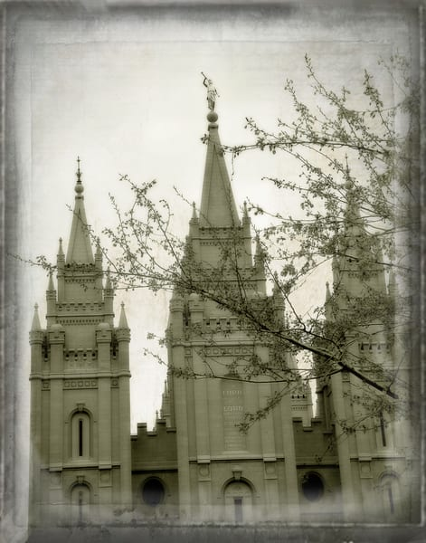Artistic Salt Lake Temple