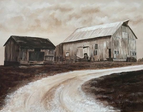 Grandpa's Barns Art | alanajudahart