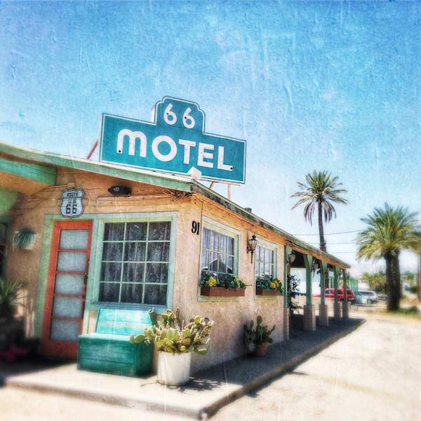 66 Motel Art   photographicsart