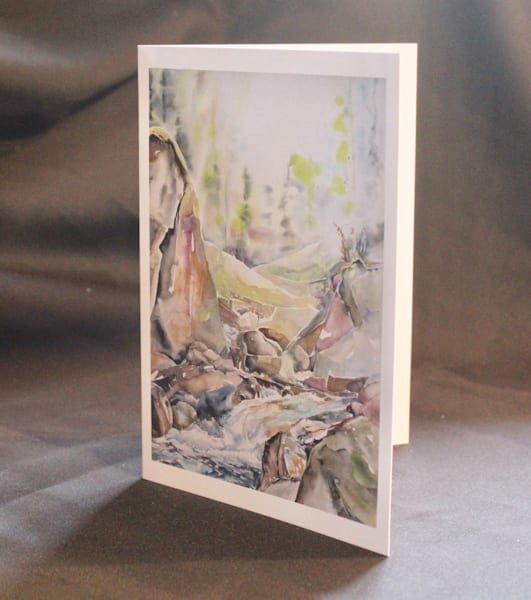 Clairvaux Falls Card | Karen Bishop Artist