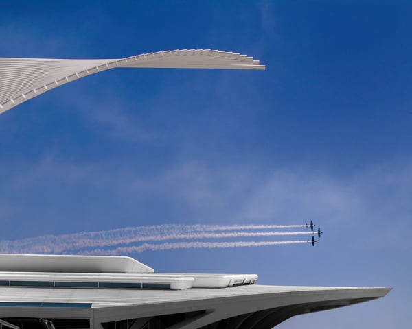 Calatrava Fly By