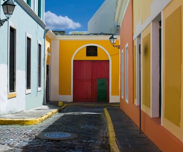 Red Door Street Art | Mark Stall IMAGES