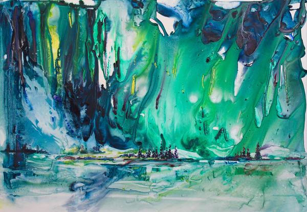 Spirits Of The Dawn Card | Karen Bishop Artist