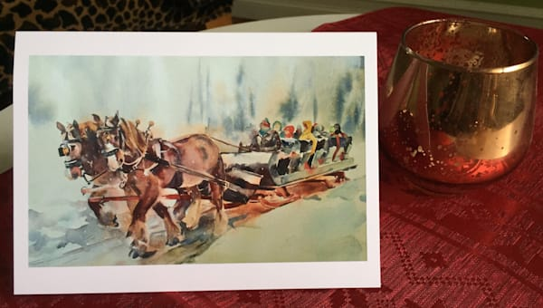 Sleigh Ride | Karen Bishop Artist