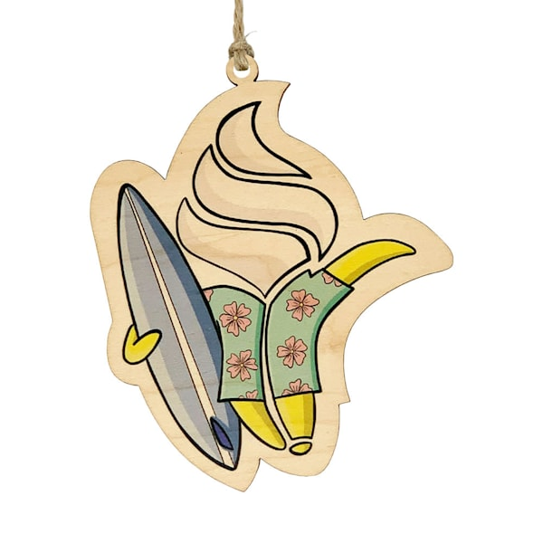 HI Biz Ornaments | Banan Limited Edition Ornament