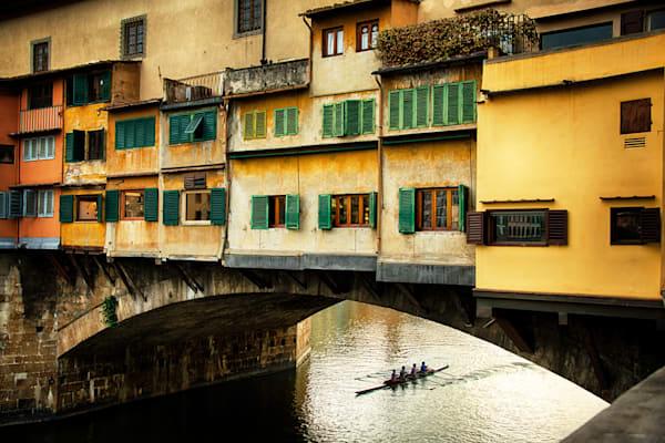 Ponte Vecchio Sunset Photography Art | templeimagery