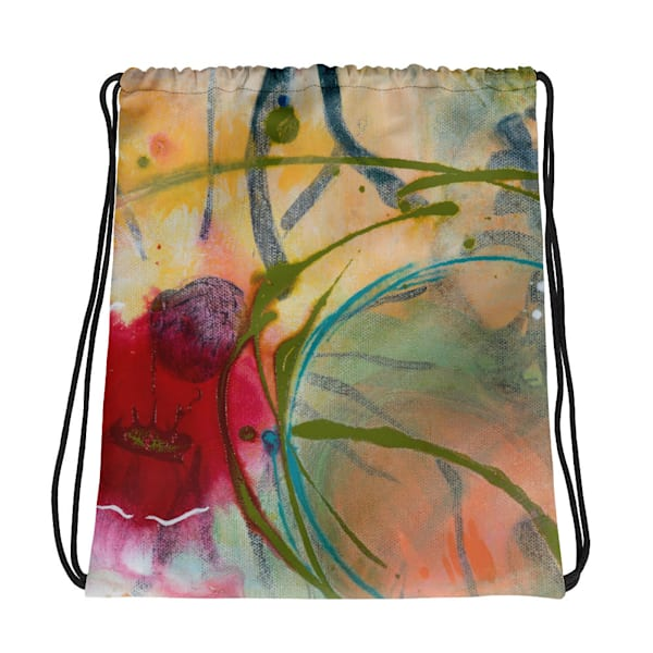 Gym Bag, Backpack, Drawstring Bag by Debbie Dicker - Art