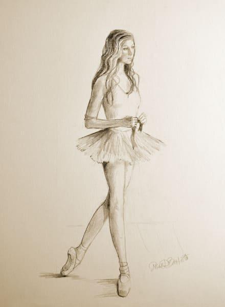 Female Ballet Art Print