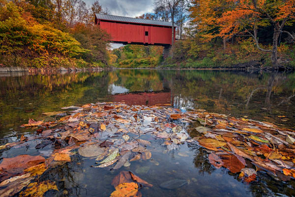 Autumn at Slaughter House Bridge | Shop Photography by Rick Berk