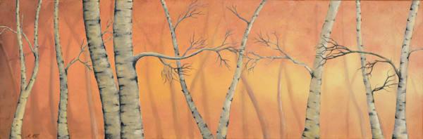 Birch Trees | Original Oil Painting
