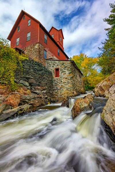 The Old Red Mill | Shop Photography by Rick Berk