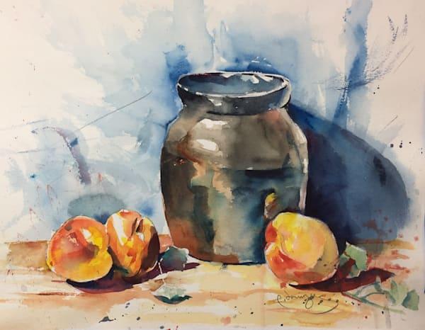 Posing Peaches Art | Patrick Dominguez Art