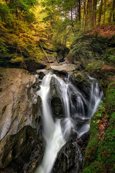 Bingham Falls Autumn | Shop Photography by Rick Berk