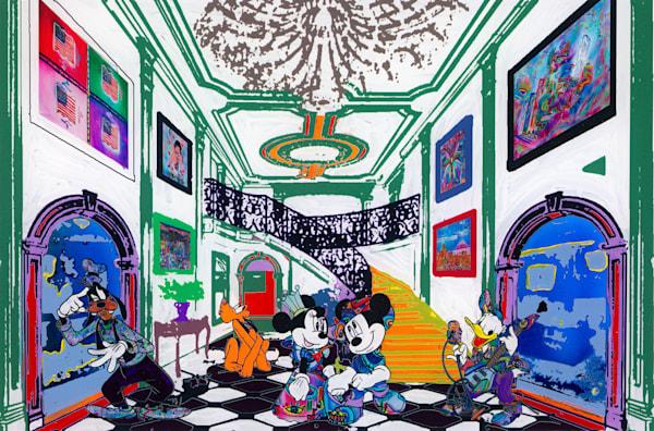 """Disney Mansion"" Art | JD Shultz Art"