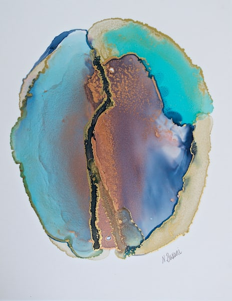 Aqua Aura Quartz  Art | Neena Buxani