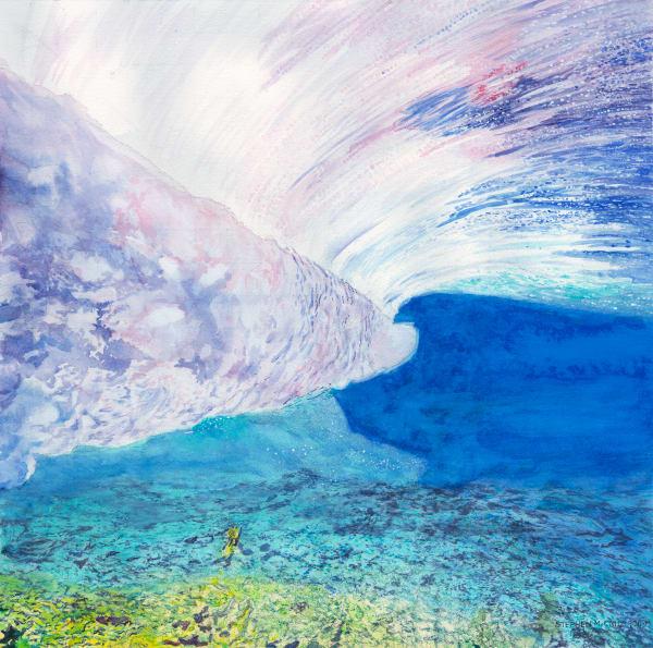 Underwater Wave Art | CruzArtz Fine Arts