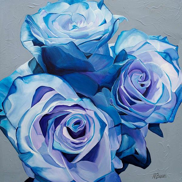 Cobalt Roses