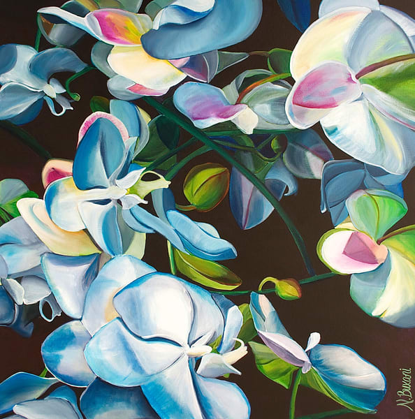 White Orchids 2 Art | Neena Buxani