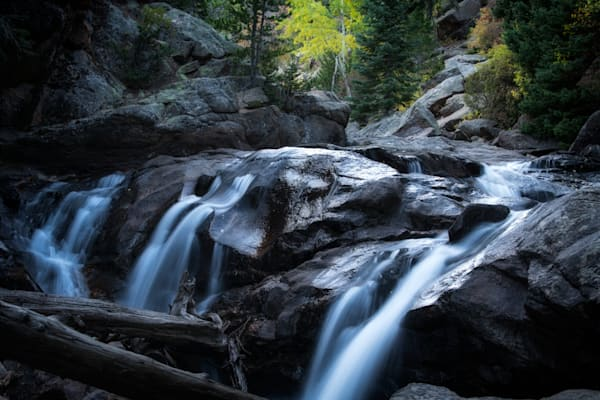 A Beautiful Waterfall on Fall River Road