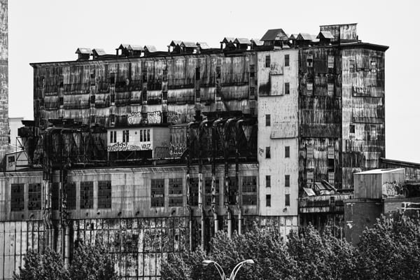 Rooftops BW - Prints