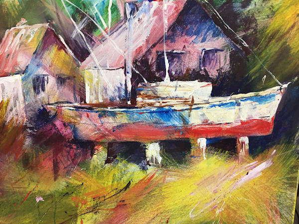Dan's Boat Art | Patrick Dominguez Art